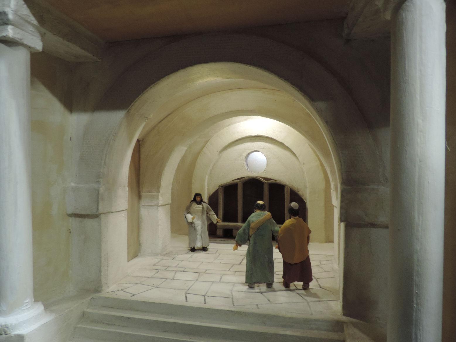 20 - Pietro e Giovanni al Sinedrio